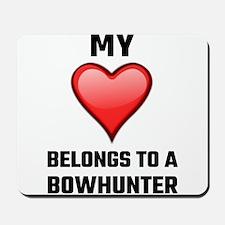 My Heart Belongs To A Bowhunter Mousepad