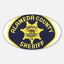 Alameda County Sheriff Sticker (Oval)