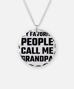 My Favorite People Call Me G Necklace