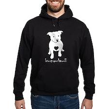 Funny One love pitbull Hoodie