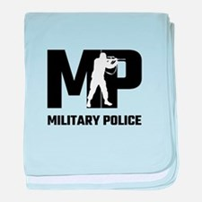 MP Military Police baby blanket