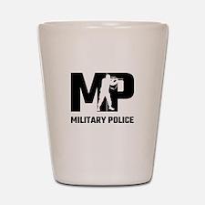 MP Military Police Shot Glass