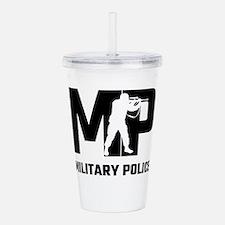 MP Military Police Acrylic Double-wall Tumbler