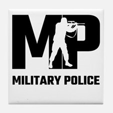 MP Military Police Tile Coaster