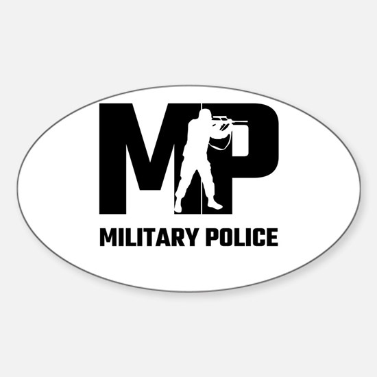 MP Military Police Decal