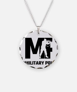 MP Military Police Necklace