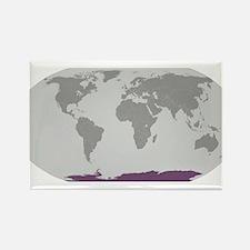 Antarctica Locator Magnets