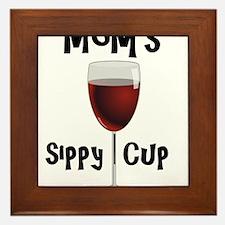 Mom's Sippy Cup Framed Tile
