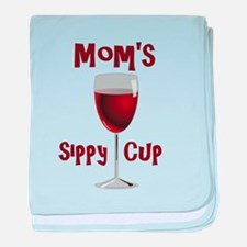 Mom's Sippy Cup baby blanket