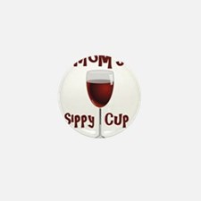 Mom's Sippy Cup Mini Button (100 pack)