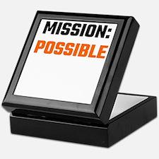 Mission: Possible Keepsake Box