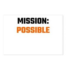 Mission: Possible Postcards (Package of 8)