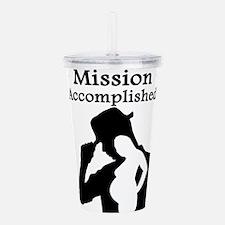 Mission Accomplished Acrylic Double-wall Tumbler