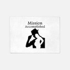 Mission Accomplished 5'x7'Area Rug
