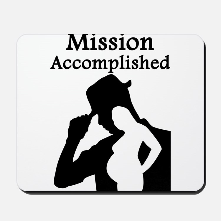 Mission Accomplished Mousepad