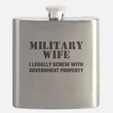 Military Wife Flask