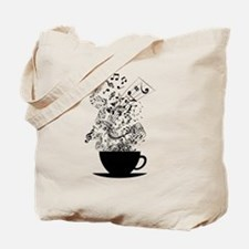 Cup of Music Tote Bag