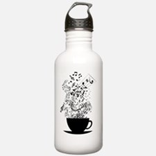 Cup of Music Sports Water Bottle