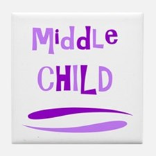 Middle Child Tile Coaster