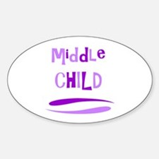 Middle Child Decal