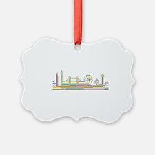 London Skyline Ornament
