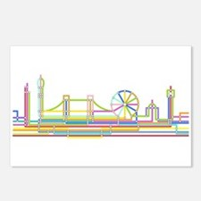 London Skyline Postcards (Package of 8)