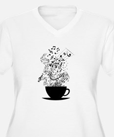 Cup of Music Plus Size T-Shirt