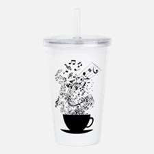Cup of Music Acrylic Double-wall Tumbler