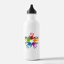 Massage Therapist Water Bottle
