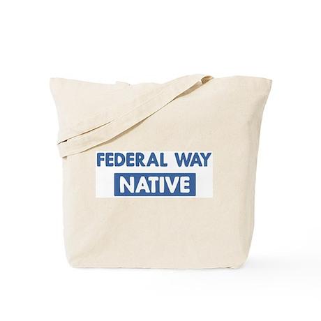 FEDERAL WAY native Tote Bag