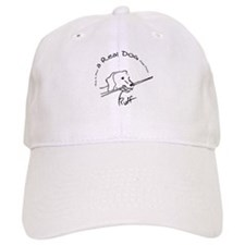 Real Pool Dog Baseball Cap
