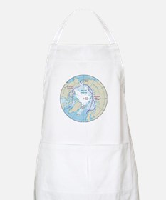Arctic Circle Map Apron