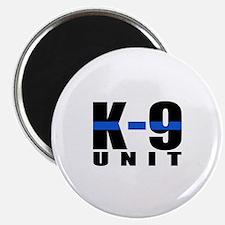 K-9 Unit Blue Line Magnet