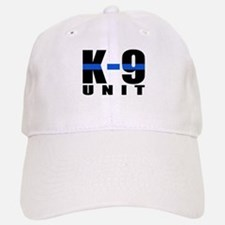 K-9 Unit Blue Line Baseball Baseball Cap