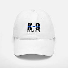 K-9 Unit Blue Line Cap