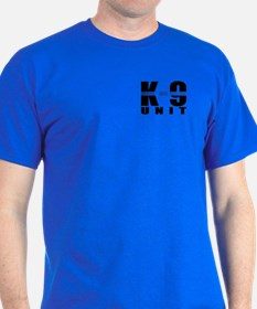 K-9 Unit Blue Line T-Shirt