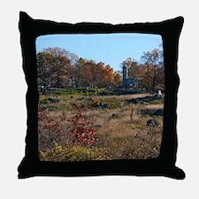 Gettysburg National Park - Little Rou Throw Pillow