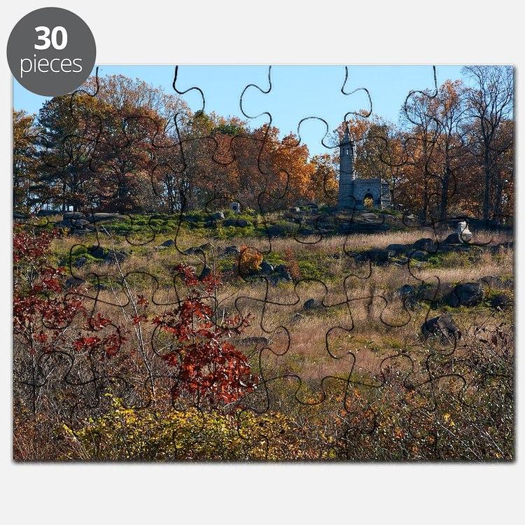 Gettysburg National Park - Little Round Top Puzzle