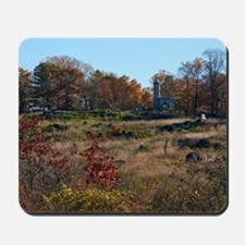 Gettysburg National Park - Little Round Mousepad