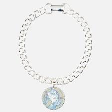 Arctic Circle Map Bracelet