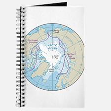 Arctic Circle Map Journal
