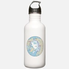 Arctic Circle Map Water Bottle