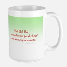 Ho! Merry Large Mugs