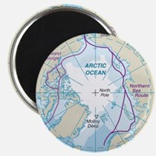 Arctic Circle Map Magnets