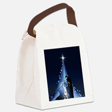 Nativity scene Canvas Lunch Bag