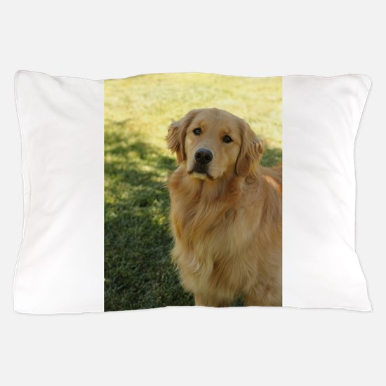 golden retriever n Pillow Case