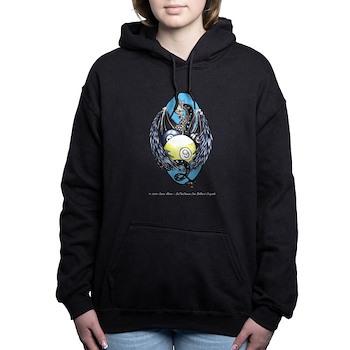 Dragon Nest Womens Hooded Sweatshirt by OTC Billiards Designs