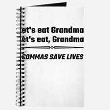 Let's Eat Grandma Commas Save Lives Journal