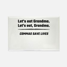 Let's Eat Grandma Commas Save Lives Magnets
