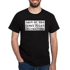 last print journalist T-Shirt
